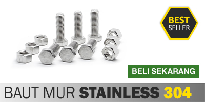 Baut Mur Stainless Steel 304